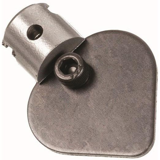 Końcówka z nożem łopatkowym 35mm T-211  RIDGID 63035 na spiralę 16mm