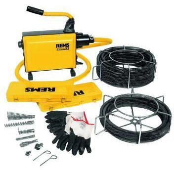 REMS Cobra 32 Set 22 + 32 Elektryczna maszyna do czyszczenia rur
