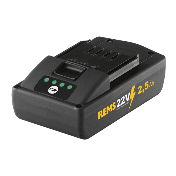 REMS Power-Pack 22V, 2,5Ah/230V, 90W