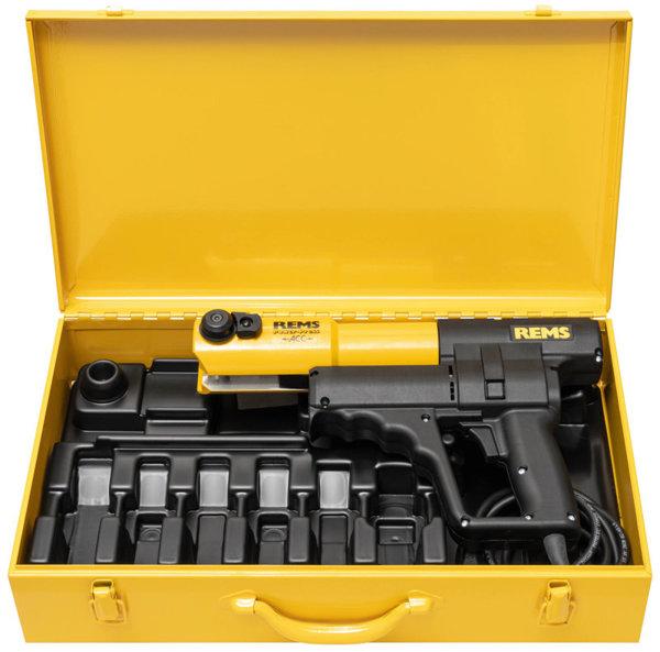 REMS Power-Press ACC  z automatycznym powrotem