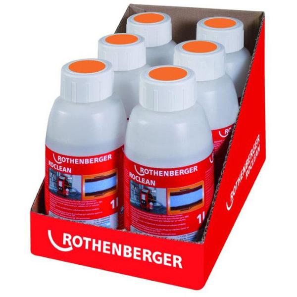 Środek chemiczny ROCLEAN do systemów grzejnikowych 6szt. 1500000200 ROTHENBERGER