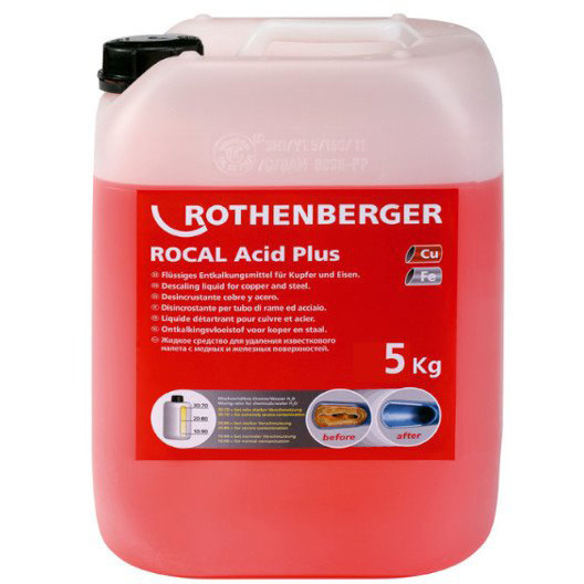 Środek do odkamieniania ROCAL Acid Multi 10kg 1500000116 ROTHENBERGER