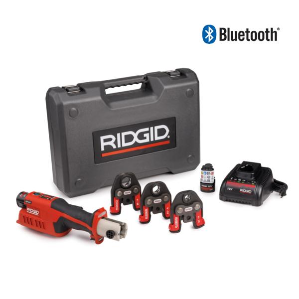 ZACISKARKA RIDGID RP 241 ZESTAW V 16 - 22 - 28  Bluetooth
