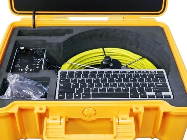 Zestaw inspekcyjny do rur. Kamera inspekcyjna G-Tools model GT - Cam 16 R